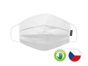 Ochranné trojvrstvové respiračné rúško s nanovlákennou membránou od českého výrobcu Spur.